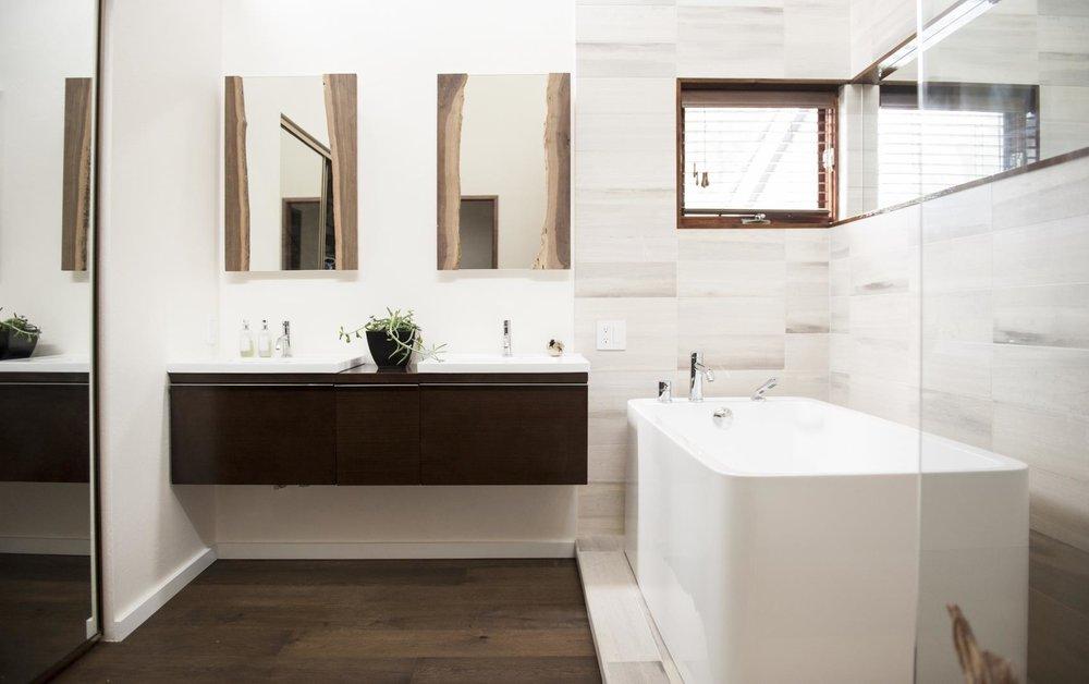 Rustic Modern Bathroom