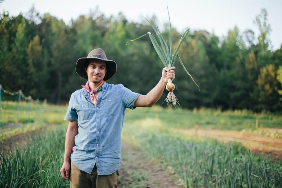 Olivette Farm Manager, Justin Aiello