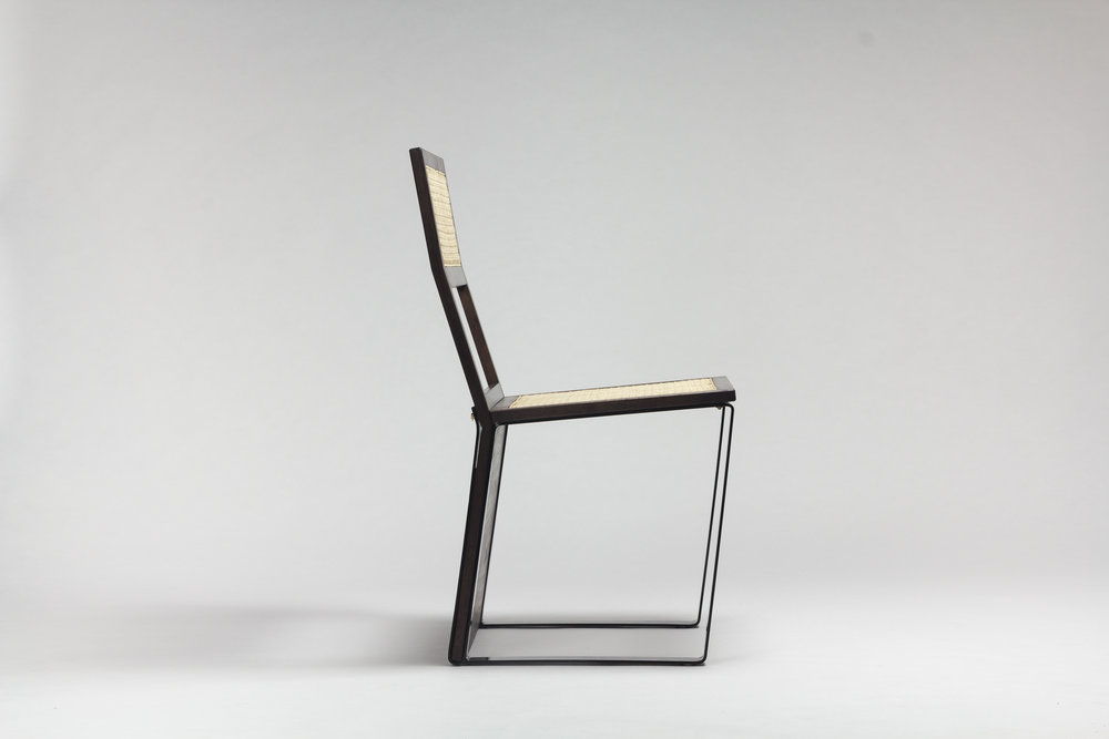 black mountain dining chair