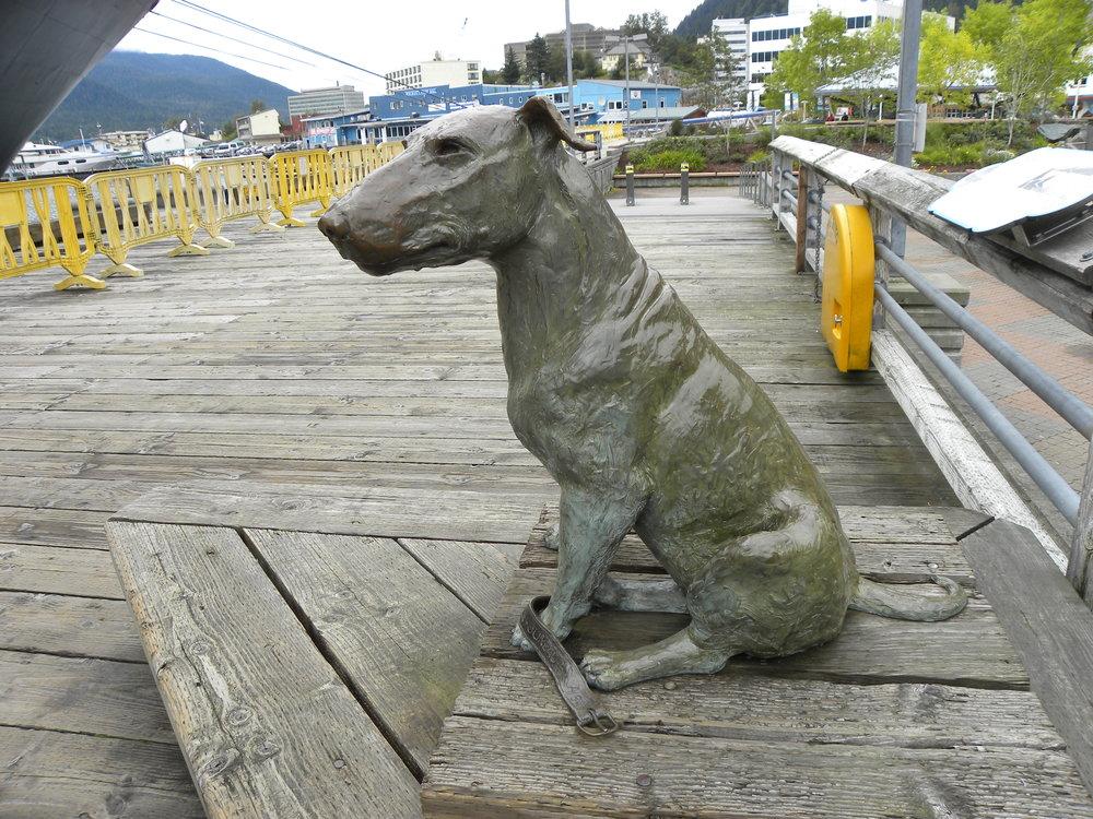 Patsy Ann - Famous Alaskan Bull Terrier