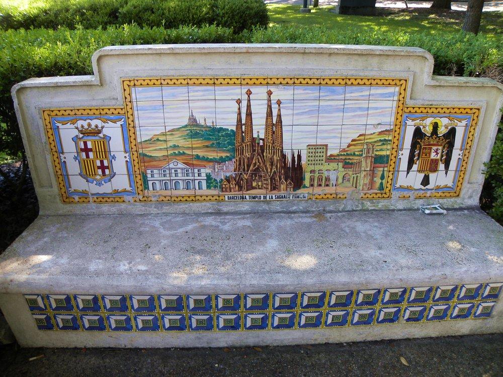 Spanish Bench