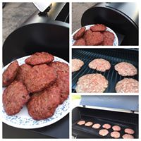 Smoked Cincy Beef burgers