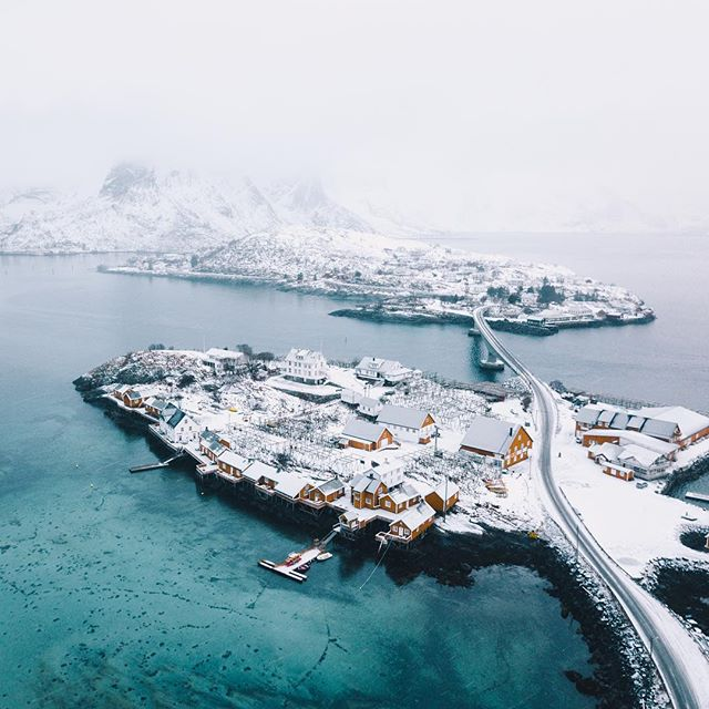 Well, that was the most ridiculous day of all time. Shoutout to the Lofoten Islands. 😱
