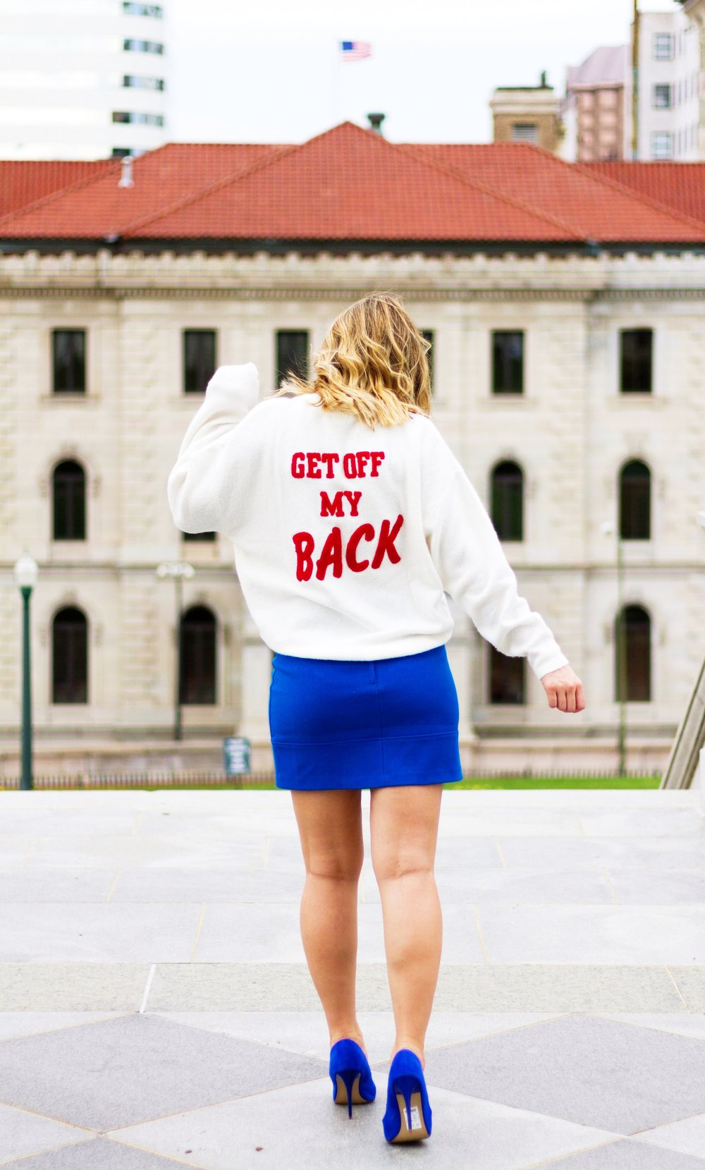 GET OFF MY BACK - LET YOUR STYLE SPEAK YOUR MOOD