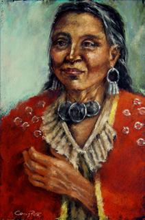 Wyandot Woman