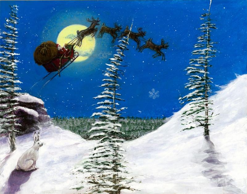 Sleigh Bells over Spruce Knob, WV