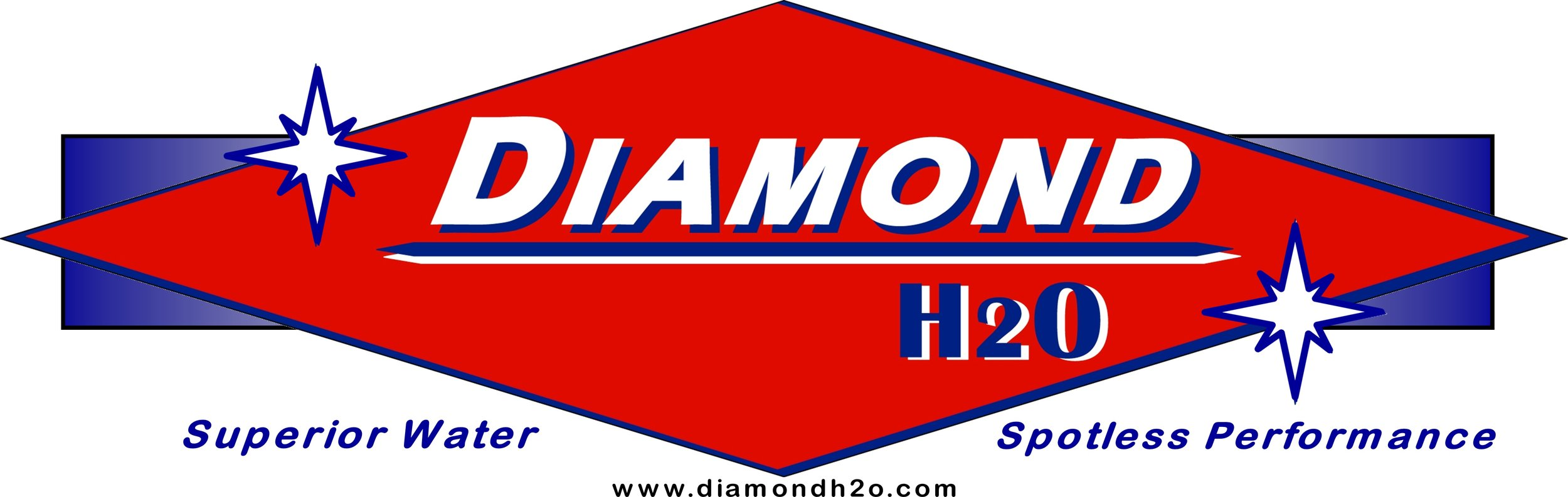 Diamond H2O Logo