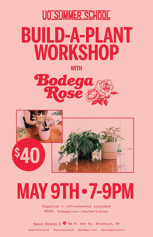 Build A Plant Workshop