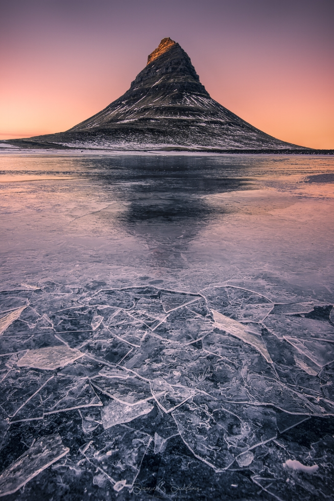 Great light before sunset at Kirkjufell!