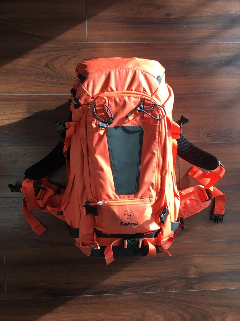 The F-Stop Tilopa can fit enough gear for me to be off the grid for 4 days!