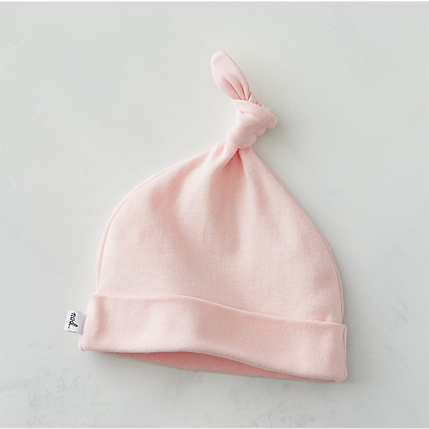 Pink Knot Hat