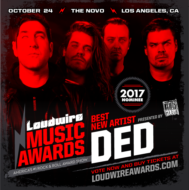 ded - best new artists - loudwire awards