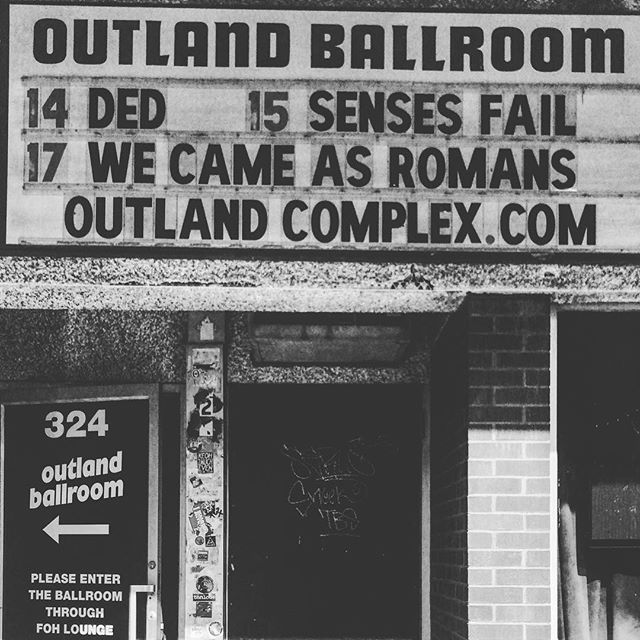 Last US show before Europe. Tonight 5/14 we are at The Outland Ballroom in MO. Let's end this tour right! #StayDed #Ded