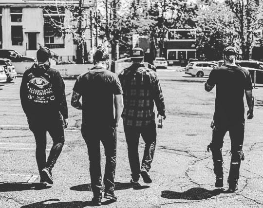 Brothers. #StayDed photo: @adamcikmeout