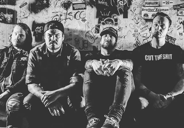 Follow us on our personals too yuhs Left to right @kyle_koelsch @david.is.ded @joecotela @deddrums #StayDed