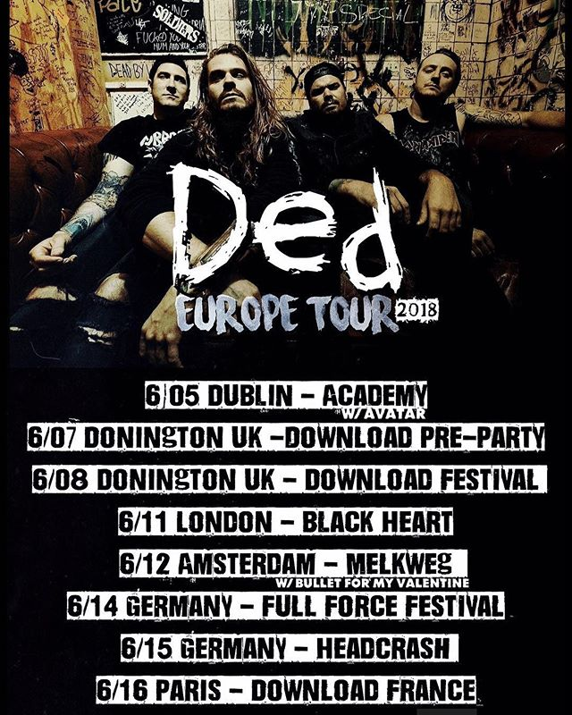 Europe... we're bringing it to you soon.  #StayDed