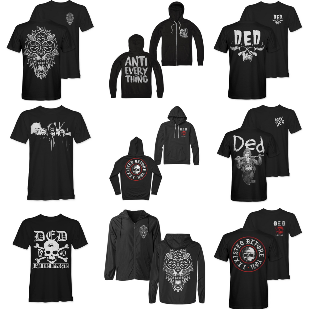 NEW MERCH STORE - We've launched a new merch store! Get tour exclusives, new designs and a few favorites restocked.T-shirts, hoodies, windbreakers, and hats available now!