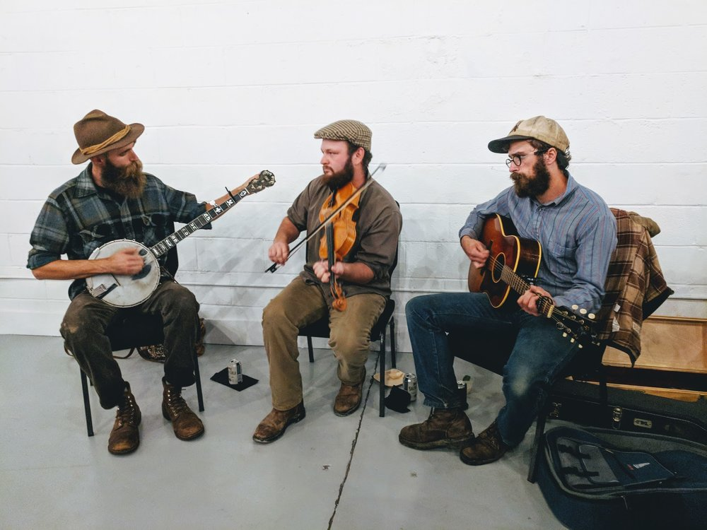 Live music from the Bells Bend String Band
