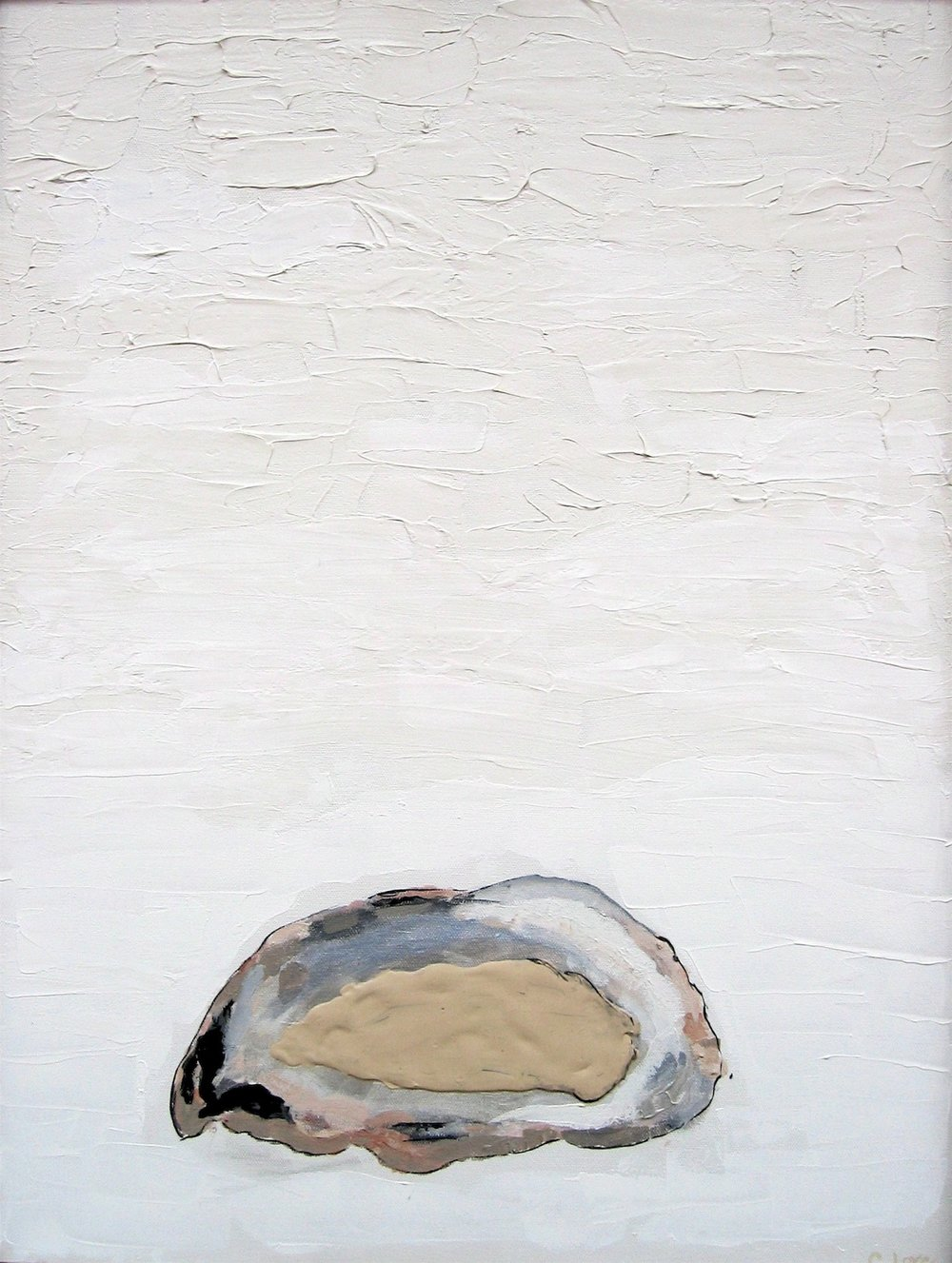 "Oyster   Acrylic on Canvas  22"" x 34"""