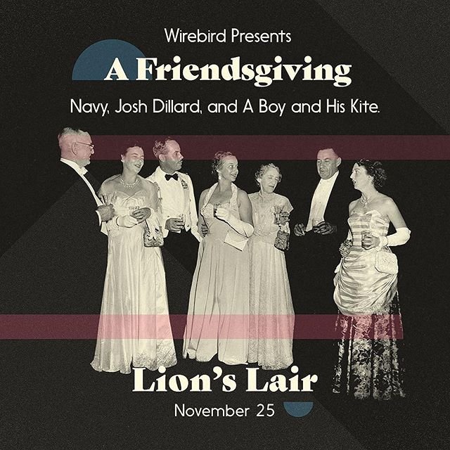 Tonight tonight. Friendsgiving at the lions lair!