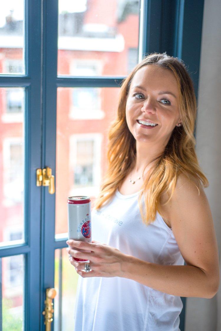 Jenni Drinking SpikedsSetlzer