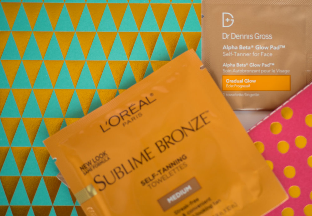 Self Tanning Wipes