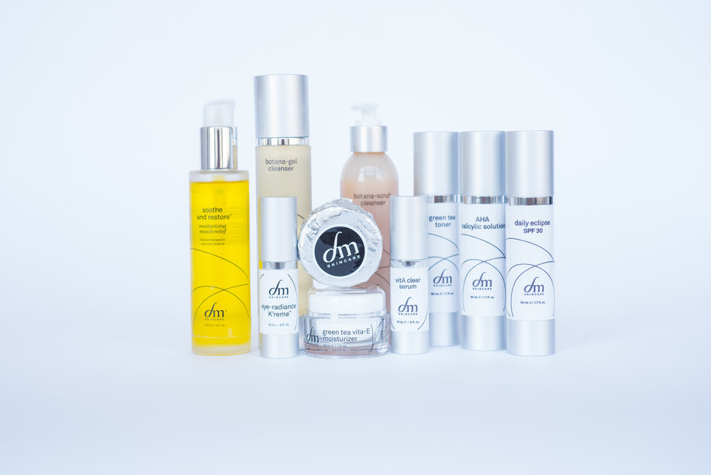 Check out the full line of dmSkincare at www.dmskincare.com