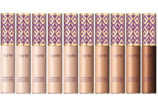 Full to Medium Coverage: Tarte Shape Tape