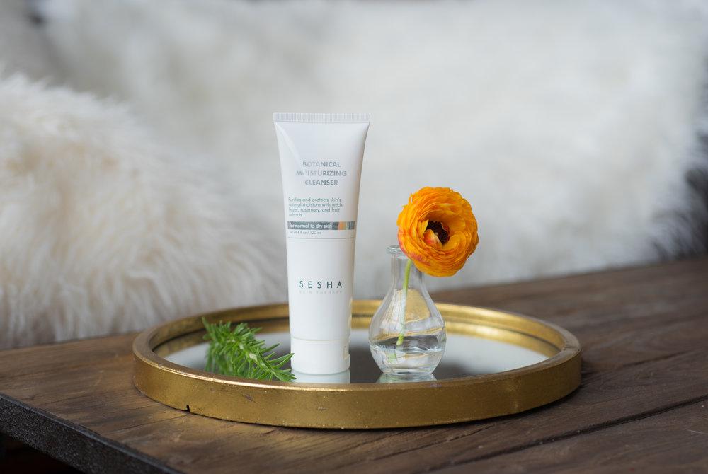 Botanical Moisturizing Cleanser- Sesha Skincare