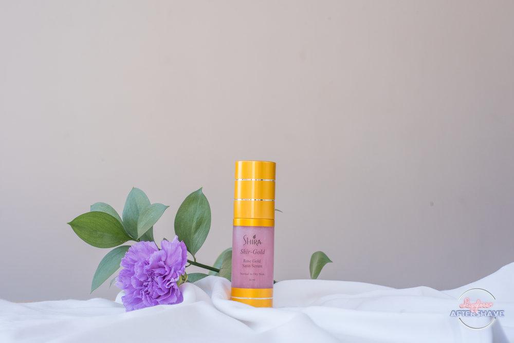 Shir-Gold Rose Gold Satin Serum by Shira Organics