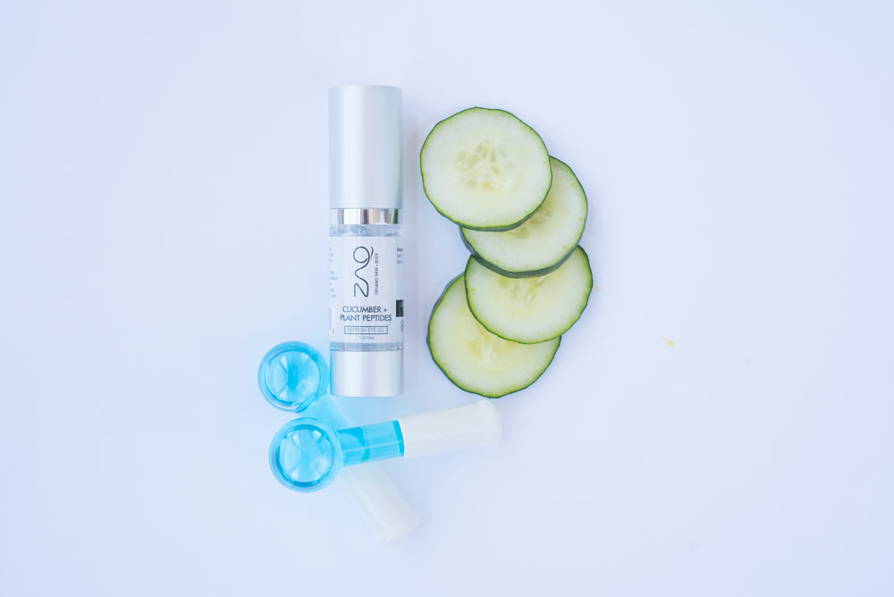 ORGANIC REFRESH EYE CARE - CUCUMBER + PLANT PEPTIDES