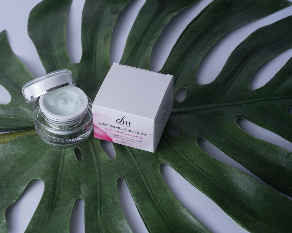 green tea vita-E moisturizer™ by dmSkincare