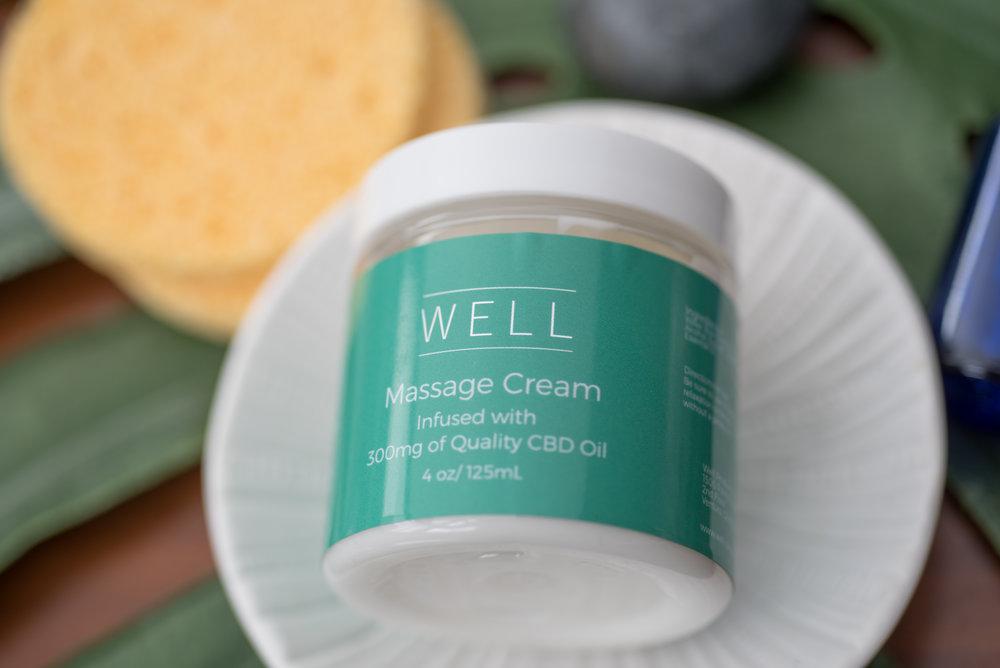 CBD Massage Cream - WELL