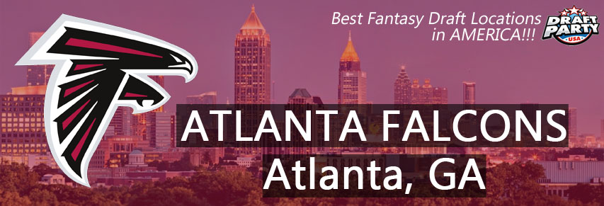 Best Fantasy Draft Locations in Atlanta - Fantasy football draft parties by Draft Party USA offer a premium drafting experience for your 2017 fantasy draft. We make it easy to plan and pay for your event at the best fantasy draft party locations in the Atlanta area. Contact us today for current packages and pricing.
