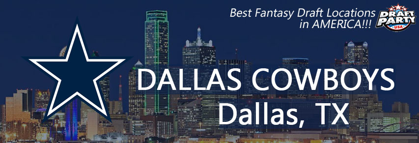 Best Draft Party Locations in Dallas - Fantasy football draft parties by Draft Party USA offer a premium drafting experience for your 2017 fantasy draft. We make it easy to plan and pay for your event at the best fantasy draft party locations in the Dallas, TX area. Contact us today for current packages and pricing.