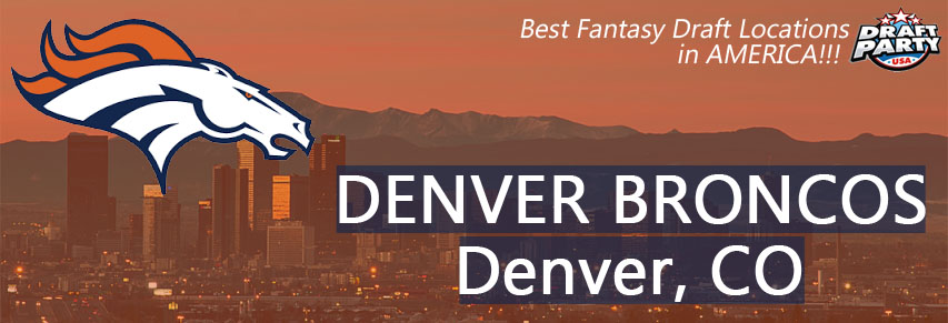 Best Fantasy Draft Locations in Denver - Fantasy football draft parties by Draft Party USA offer a premium drafting experience for your 2017 fantasy draft. We make it easy to plan and pay for your event at the best fantasy draft party locations in the Denver area. Contact us today for current packages and pricing.
