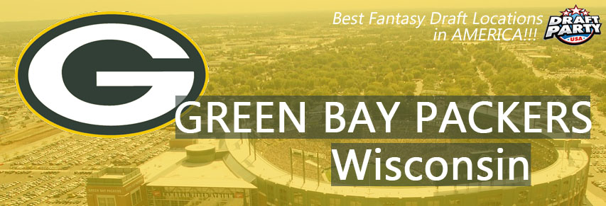 Best Fantasy Draft Locations in Green Bay, Wisconsin - Fantasy football draft parties by Draft Party USA offer a premium drafting experience for your 2017 fantasy draft. We make it easy to plan and pay for your event at the best fantasy draft party locations in the land of the Cheese Heads. Contact us today for current packages and pricing.