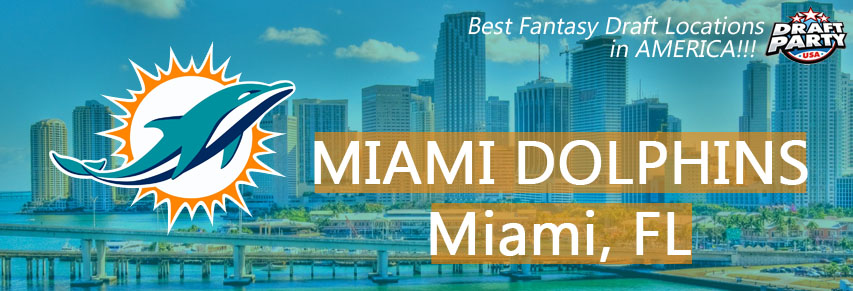 Best Fantasy Draft Locations in Miami - Fantasy football draft parties by Draft Party USA offer a premium drafting experience for your 2017 fantasy draft. We make it easy to plan and pay for your event at the best fantasy draft party locations in South Florida. Contact us today for current packages and pricing.