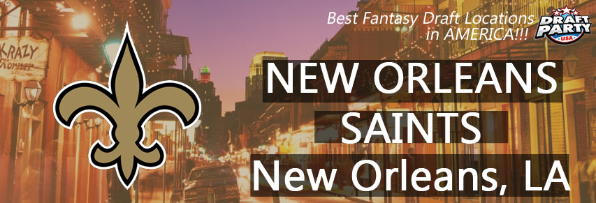 Best Fantasy Draft Locations in New Orleans - Fantasy football draft parties by Draft Party USA offer a premium drafting experience for your 2017 fantasy draft. We make it easy to plan and pay for your event at the best fantasy draft party locations in the Big Easy! Contact us today for current packages and pricing.