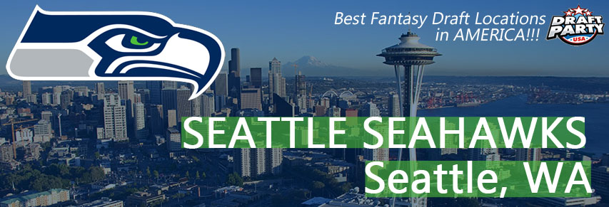 Best Fantasy Draft Locations in Seattle - Fantasy football draft parties by Draft Party USA offer a premium drafting experience for your 2017 fantasy draft. We make it easy to plan and pay for your event at the best fantasy draft party locations in Seattle. Contact us today for current packages and pricing.