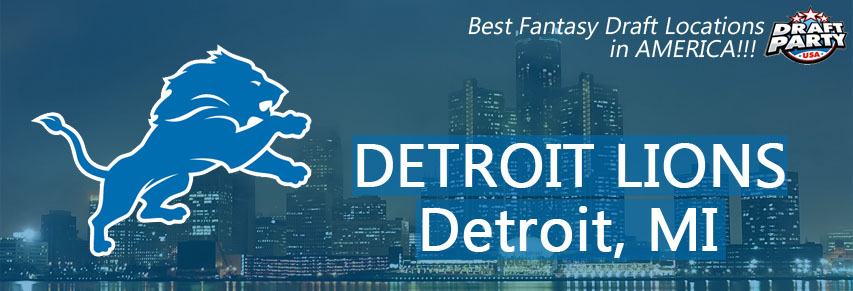 Best Fantasy Draft Locations in Detroit - Fantasy football draft parties by Draft Party USA offer a premium drafting experience for your 2017 fantasy draft. We make it easy to plan and pay for your event at the best fantasy draft party locations in Detroit. Contact us today for current packages and pricing.