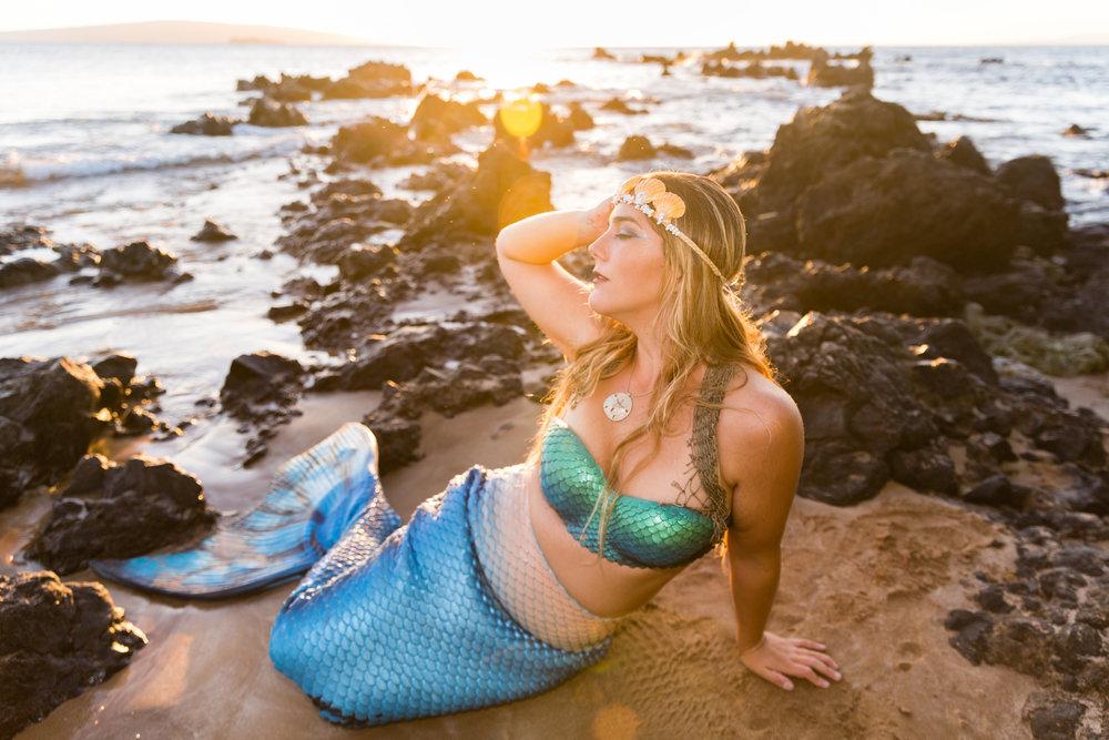 Mermaid Lila by  Lauren Wylie Photography