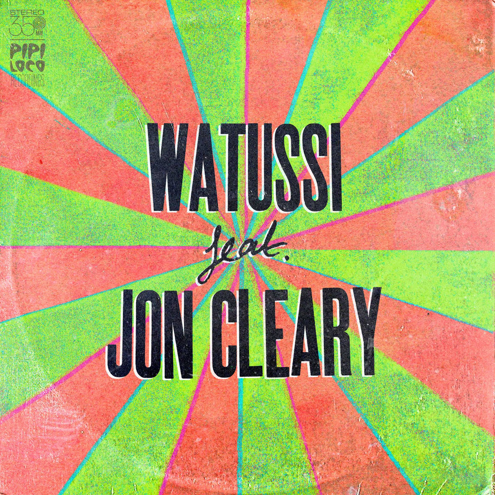 WATUSSI feat JON CLEARY Vinyl (2014 Watussi Music) - Lead, Rhythm Guitars on Tracks 1 & 2 (Available on Bandcamp)