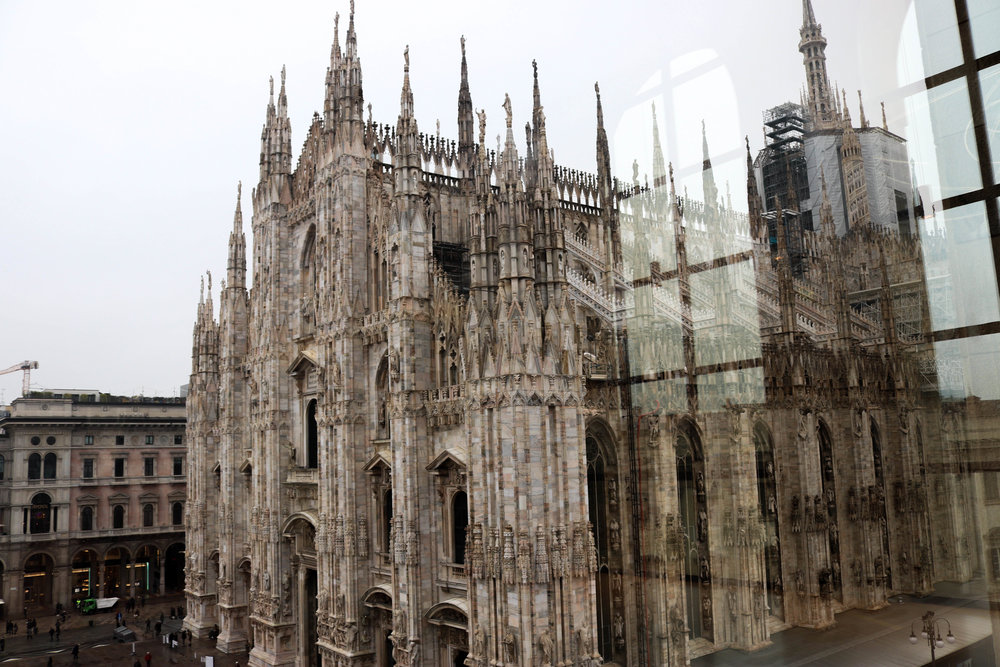 View of the Duomo from the Museum.