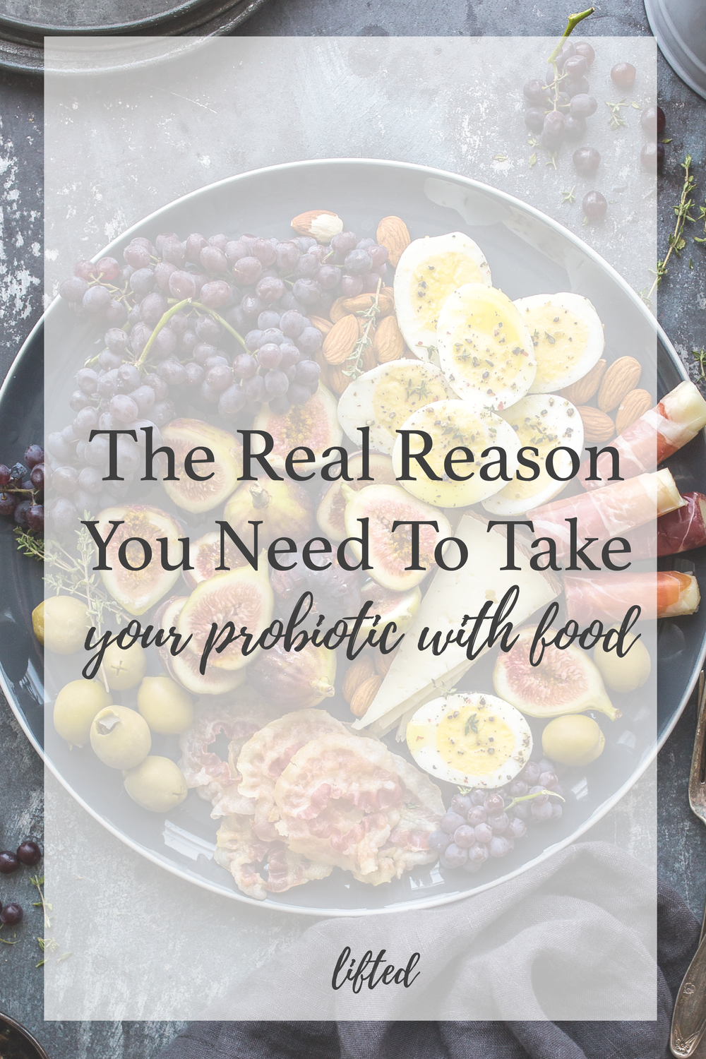 The Real Reason To Take Your Probiotic With Food