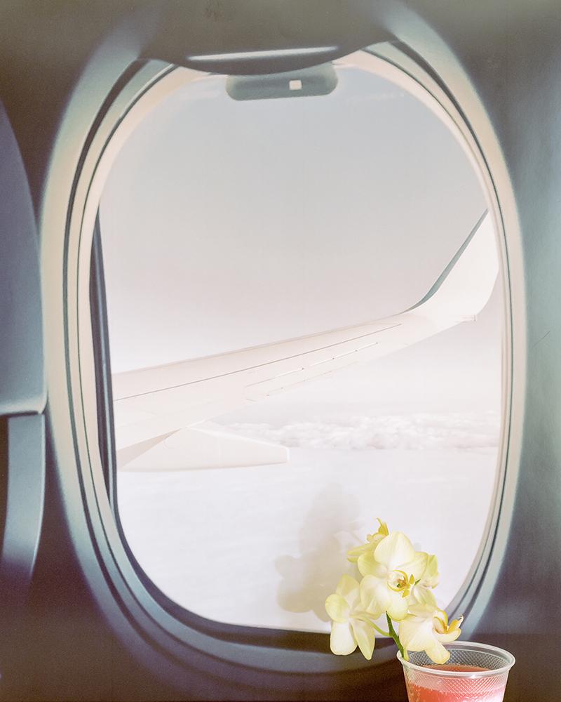 Svetlana Bailey,  plane , 2016