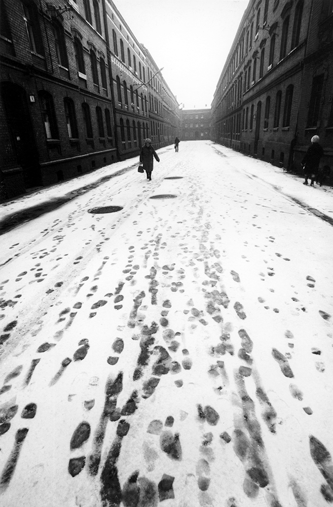 Michał Cała,  Footprints,  1980