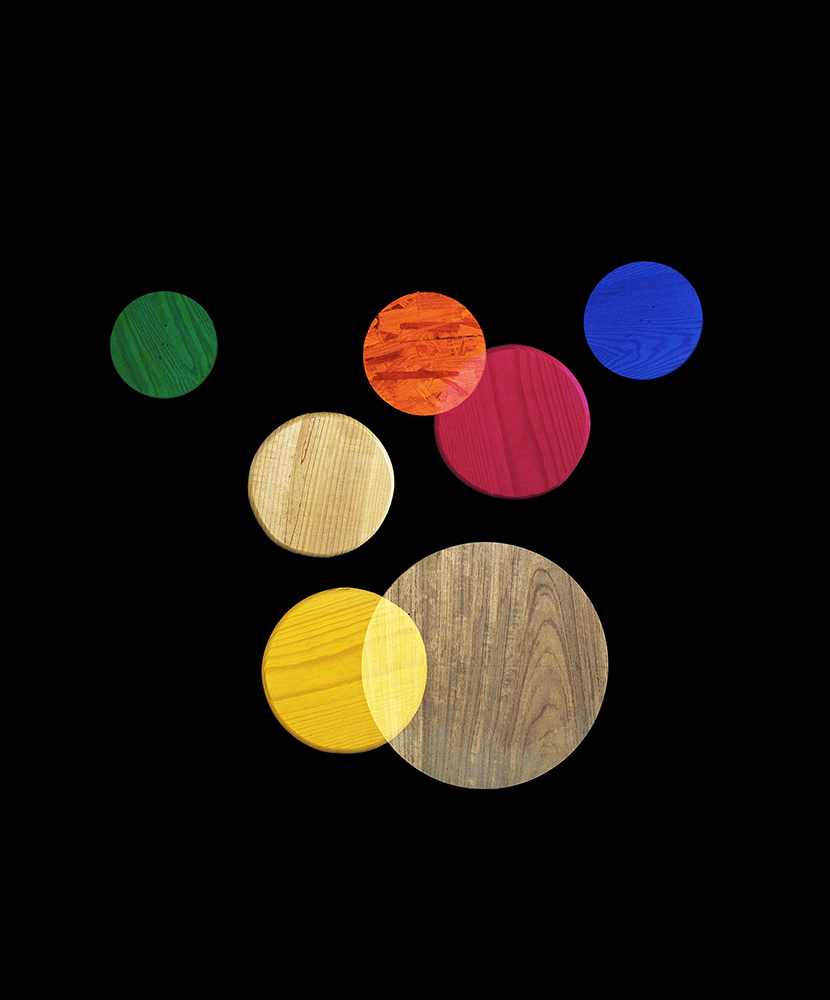 Alejandra Laviada,  Rainbow Circles,  2014
