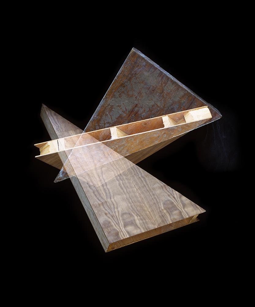 Alejandra Laviada,  Triangle Variations,  2014
