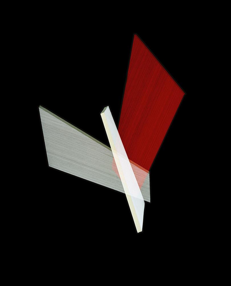 Alejandra Laviada,  Red, White Inflection,  2014